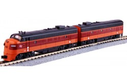 N Scale Milwaukee Road EMD FP7A/F7B 2 Loco Set - 106-0430