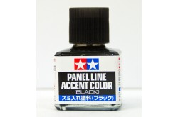 Tamiya Panel Line Accent Color (Black) - 87131