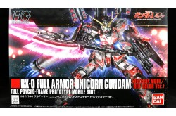 1/144 HGUC Gundam Unicorn Full Armor Destroy Mode HG - Red Version - 207581