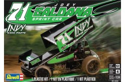 Revell Indy Race Parts Joey Saldana Sprint Cup Model Kit - 1/24 Scale