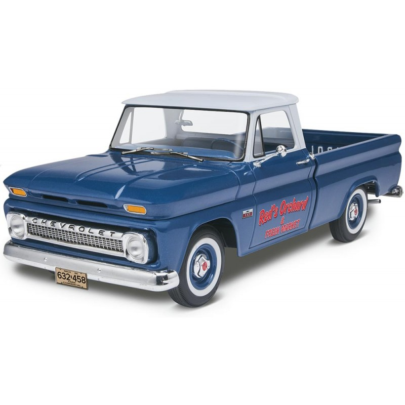 revell 1 25 66 39 chevy fleetside pickup 85 7225 up scale hobbies. Black Bedroom Furniture Sets. Home Design Ideas