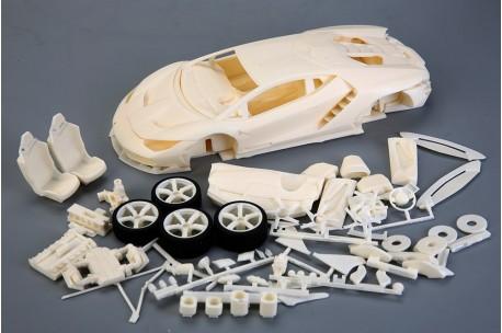 1//6 Resin Replacement Head Set for AMT Star Trek Vinyl Model Kit