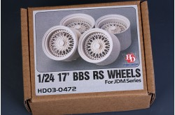 1/24 17' BBS RS Wheels For Jdm Series - HD03-0472