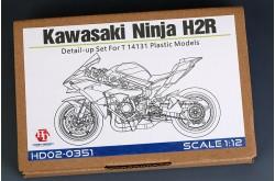 1/12 Kawasaki Ninja H2R Detail-UP Set - HD02-0351