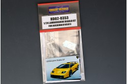 1/24 Lamborghini Diablo GT Detail Up Set