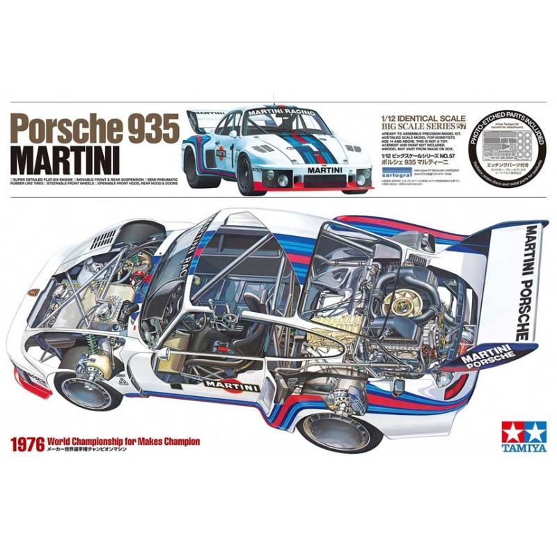 Tamiya decals 1//12 Porsche 935 Martini Part a