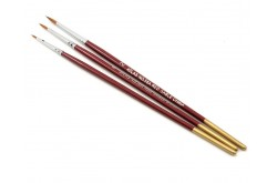 Red Sable 3pc Brush Set - 58A