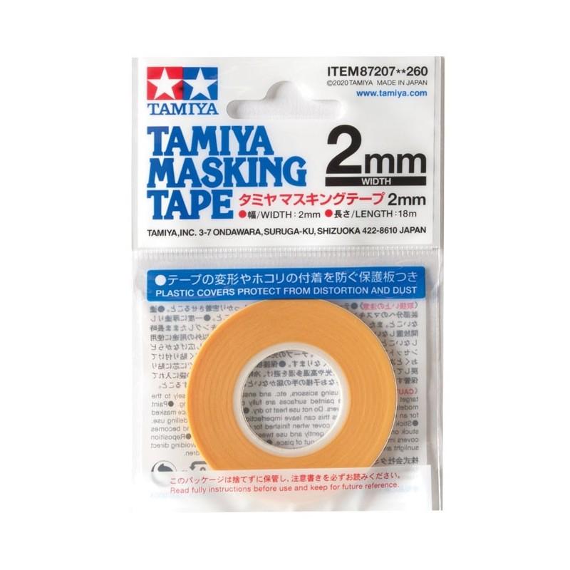 Tamiya USA TAM87207 Masking Tape 2mm