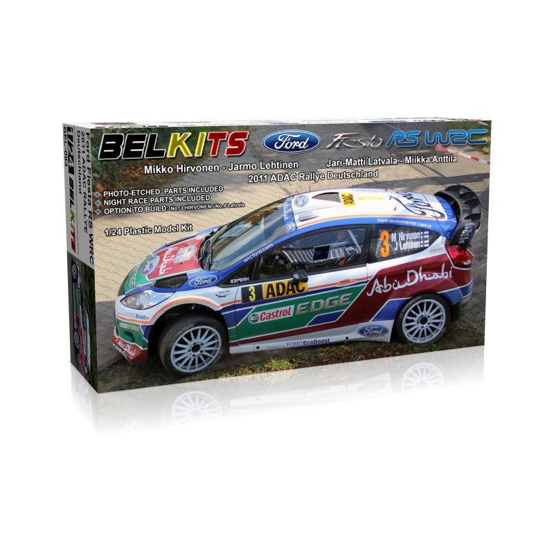 belkits ford fiesta rs wrc bel003 up scale hobbies. Black Bedroom Furniture Sets. Home Design Ideas