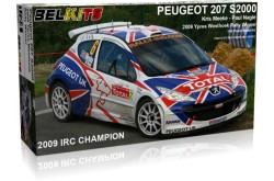 1/24 Peugeot 207 S2000 - BEL001