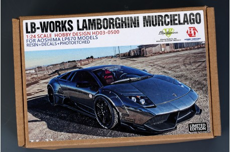 Hobby Design Lb Works Lamborghini Lp640 Wide Body Kit Hd03 0500