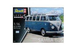 1/16 VW Type 2 T1 Samba Bus - 80-7009