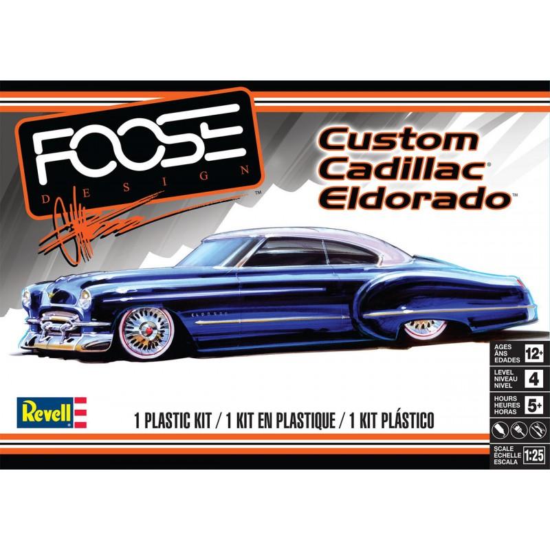 Revell Foose Custom Cadillac Eldorado - 1/25 Scale