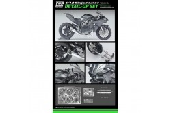 Top Studio 1/12 Ninja H2R Detail-up Set - TD23182