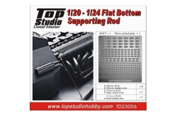 Top Studio 1/20 - 1/24 Flat Bottom Supporting Rod - TD23056