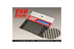 Top Studio 1/12 Weld Line - TD23131