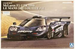 1/24 McLaren F1 GTR 1998 Le Mans 24H Loctite No.41 - 07501
