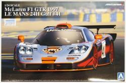 1/24 McLaren F1 GTR 1997 Le Mans 24H Gulf No.41 - 07525
