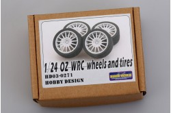 1/24 OZ WRC Wheels and Tires - HD03-0271