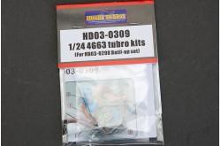 1/24 Mitsubishi 4G63 HKS Turbo kits - HD03-0309 -
