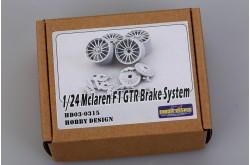 1/24 Mclaren F1 GTR Brake system - HD03-0315