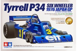 1/20 Tyrrell P34 Six Wheeler - w/Photo Etched Parts - 20058