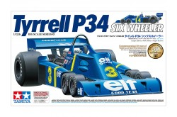 1/12  Tyrrell P34 Six Wheeler (w/Photo-Etched Parts) - 12036