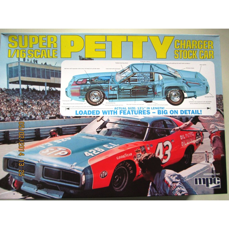 Richard Petty For Sale: AMT 1/16 Richard Petty Stock Car Charger