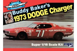 1/16 Buddy Baker '73 Charger Stock Car - 811
