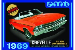 1/25 1969 Chevelle Convertible - AMT849