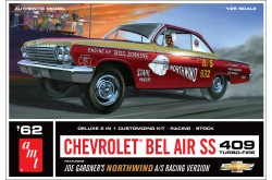 1/25 1962 Chevy Bel Air SS 409 Joe Gardner Racing Version - 865