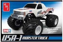 1/32 USA-1 4×4 Monster Truck (Snap)