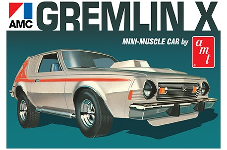 Amt 1974 amc gremlin x 1077 up scale hobbies 125 1974 amc gremlin x sciox Image collections