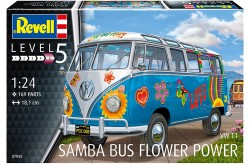 "1/24 VW T1 Samba Bus ""Flower Power"""