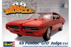 1/24 1969 Pontiac GTO Judge - 85-2072