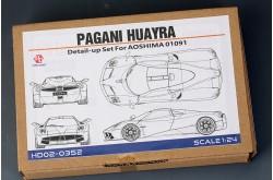 1/24 Pagani Huayra Detail Set