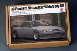 1/24 RB Pandem Nissan R32 Wide body kits