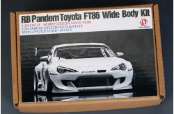 1/24  Rocket Bunny FT86 V3 Wide Body Kit