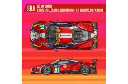 1/12 Proportion Kit Ferrari 488 GTE Ver. A - K617