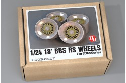 1/24 18' BBS RS Wheels - HD03-0507