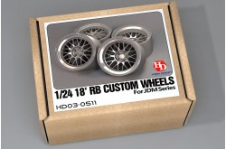 1/24 18' RB Custom Wheels - HD03-0511
