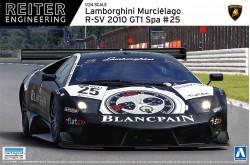 1/24 Lamborghini Murcielago R-SV 2011 GT1 Zolder No.38 - 007143
