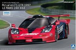 1/24 McLaren F1 GTR 1997 Le Mans 24H Gulf No.44 - 00751