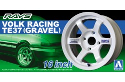 "1/24 RAYS Volk Racing TE37 (Gravel) 16"" - 05250"