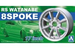 "1/24 RS Watanabe 8 Spoke 17"" - 05243"