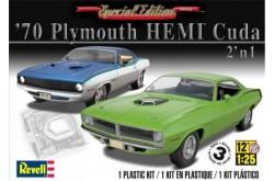 1/25 '70 Plymouth HEMI Cuda 2 'n 1 - 85-4268