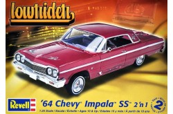 1/25 '64 Chevy Impala Hardtop Lowrider 2 'n 1 - 85-2574