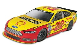 1/24 Joey Logano No.22 Shell Pennzoil Ford Fusion - SnapTite