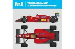 1/12  Full Detail Ferrari Ferrari F187 Ver. B - K625