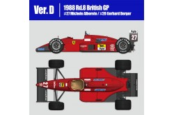 1/12  Full Detail Ferrari F187/88C Ver. C - K626